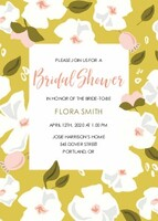 Yellow Florals Bridal Shower by Cathy Nordstrom
