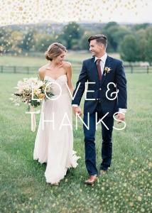 Dusted Flecks Wedding