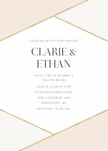 Modern Color Block Wedding