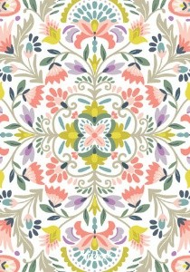 Floral Pattern Wedding