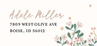 Soft Floral Bridal Shower by Cathy Nordstrom
