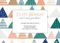 Birthday Geometrics by Cathy Nordstrom