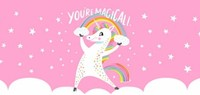 Magical Unicorn Valentine by Hello!Lucky