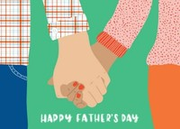 Happy Father's Day by Black Lamb Studio