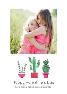 Cactus Heart Valentine by Pennie Post