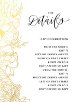 Botanical Line Wedding by The Pigeon Letters