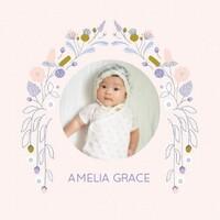 Baby Girl Photo Album by Elizabeth Olwen