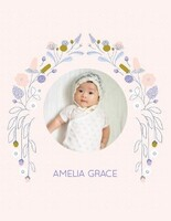 Baby Girl Photo Album by Elizabeth Olwen
