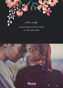 Romantic Blush and Navy Engagement Party
