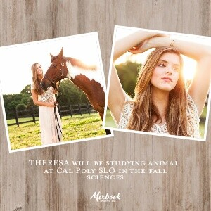 Rustic Country Graduation Announcement