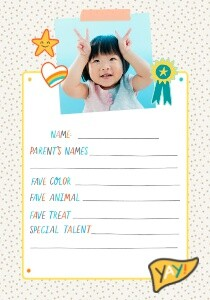 Kid's Trading Cards by Oh Joy!
