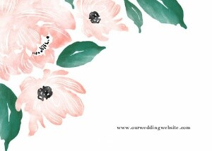 Spring Floral Watercolor
