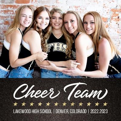 Cheerleading Photo Book