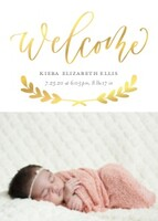 Welcome Vines by Letters by Shells