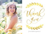 Vine Thank You by Letters by Shells