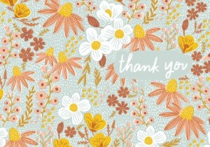 Flower Thank You by Hello!Lucky