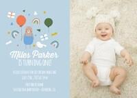 Baby Boy First Birthday by Cathy Nordstrom