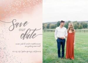 Blush Save the Date