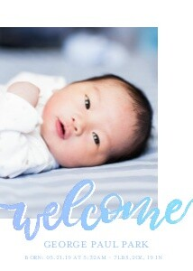 Welcome Baby Announcement