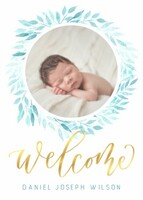 Welcome Wreath by Letters by Shells