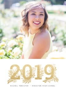 2019 Floral Year Graduate