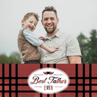 Plaid Father's Day