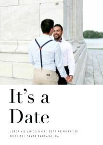 Modern It's a Date