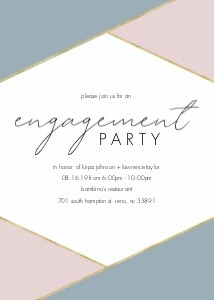 Geometric Engagement Party