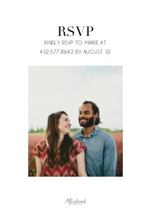 Simple Modern Engagement Party