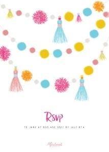 Fiesta Birthday Party Invitation by Pennie Post