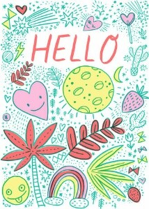 Hello Doodles by Hello!Lucky