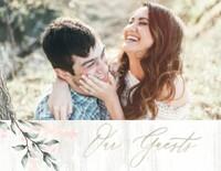 Boho Chic Wedding Guest Book
