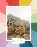 Rainbow Travel Scrapbook By The House that Lars Built