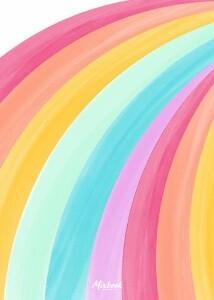 Limited Edition Rainbow Notecard