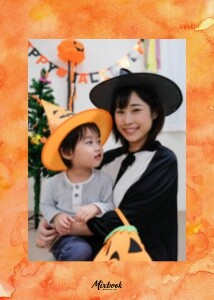 Haunted House Halloween Photo Card