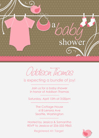 Clothesline Baby - Pink