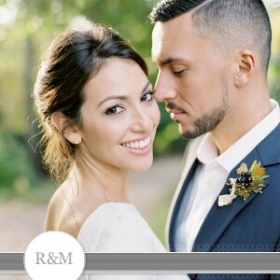 Modern Gray Wedding