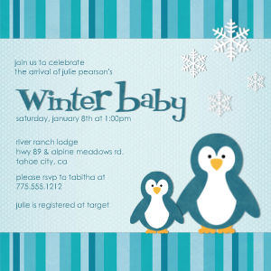 Winter Baby Sizes Shapes