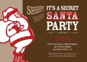 secret santa party .